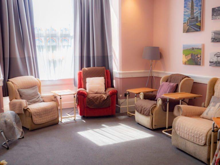 Bluebell Nursing Home communal space