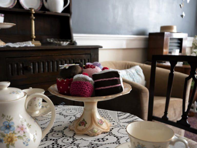 Bluebell Nursing Home tea table