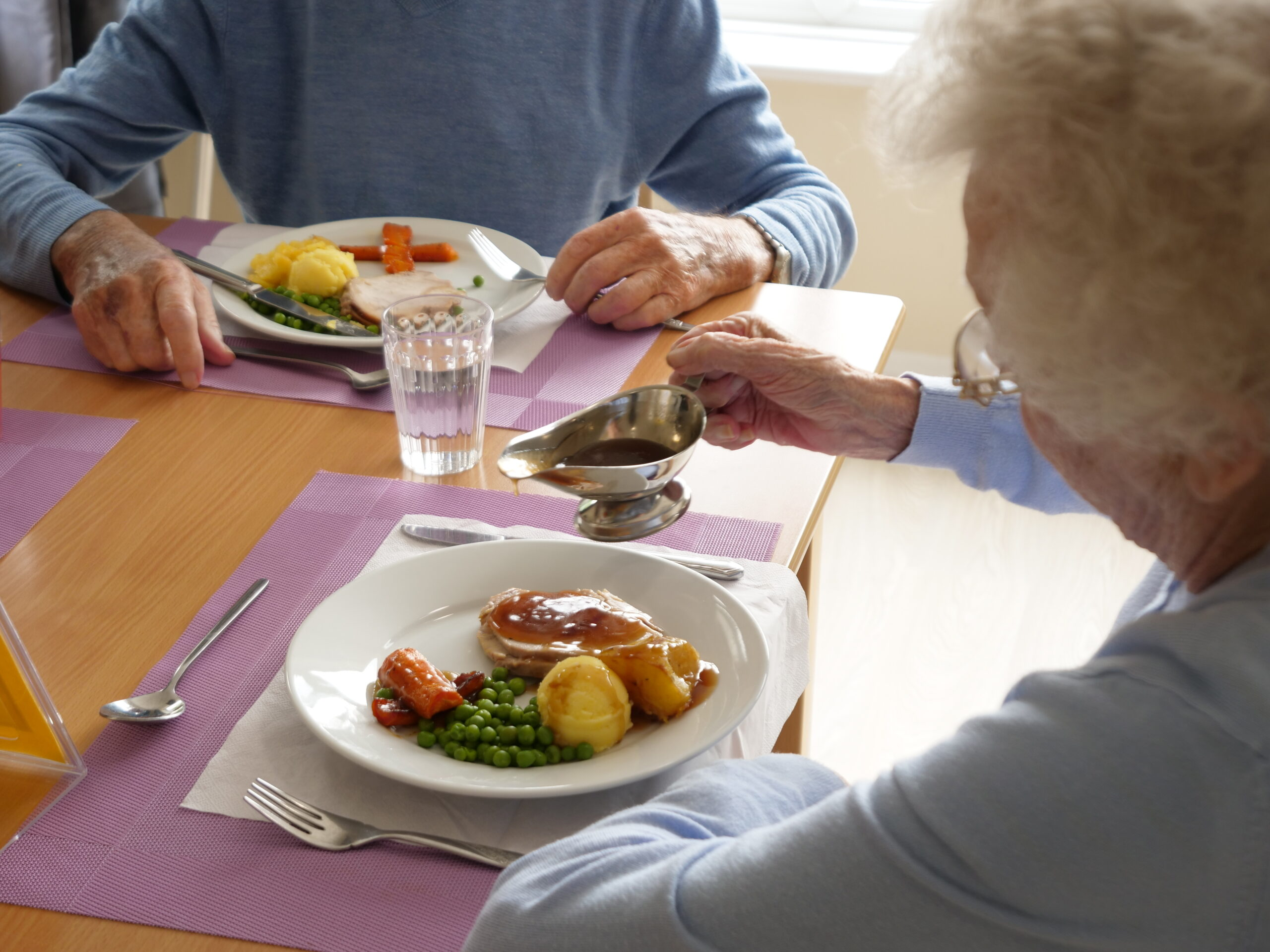 Roselands Residential Home meals portion