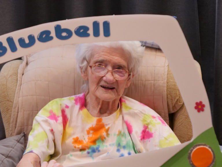 Bluebell Nursing Home resident