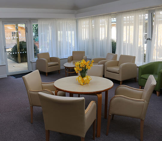 Hartley House Residential Home dinning room