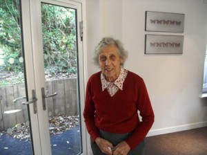 Hartley House Residential Home happy resident