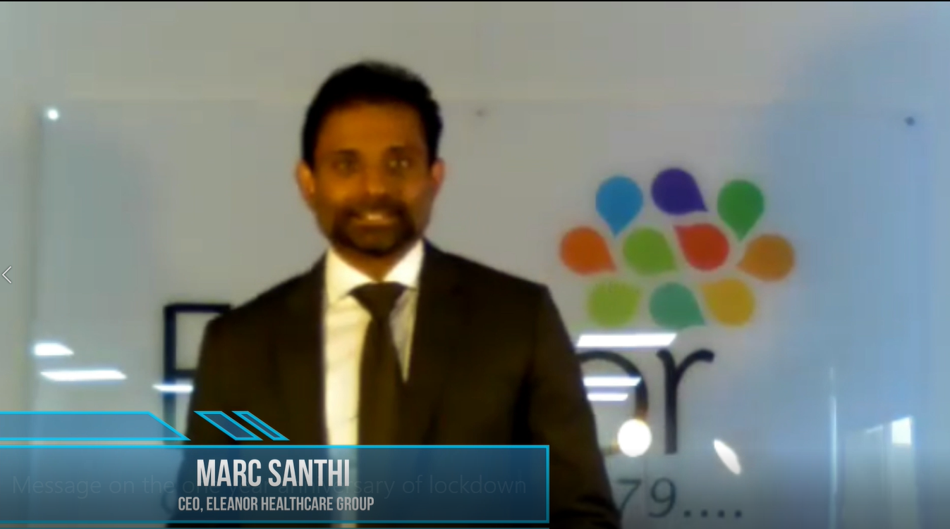 Marc Santhi CEO Eleanor Healthcare Group